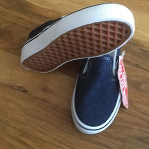 vans Shoes - Slip on 59 denim size 11 kids vans